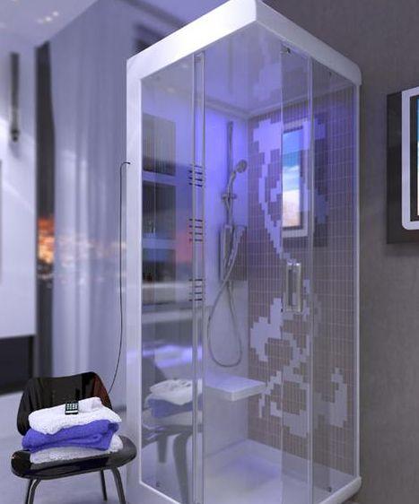 Futuristic bathrooms