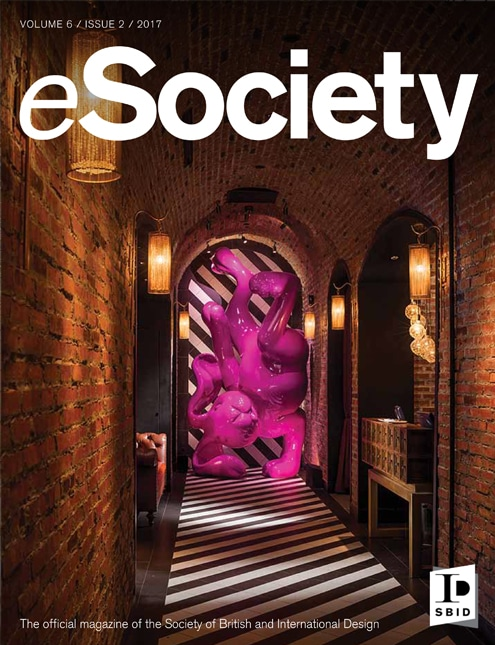 SBID interior design magazine, eSociety, Volume 6 Issue 2