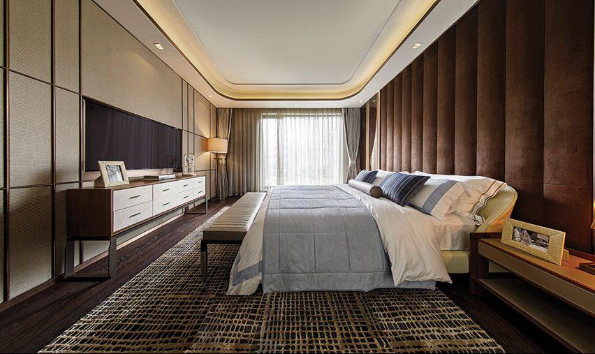 Bedroom interior for Shanghai residence