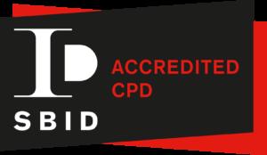 SBID Accredited CPD Logo
