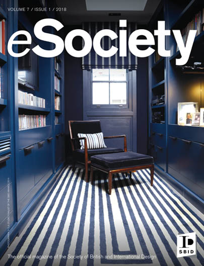 SBID interior design magazine, eSociety, Volume 7 Issue 1