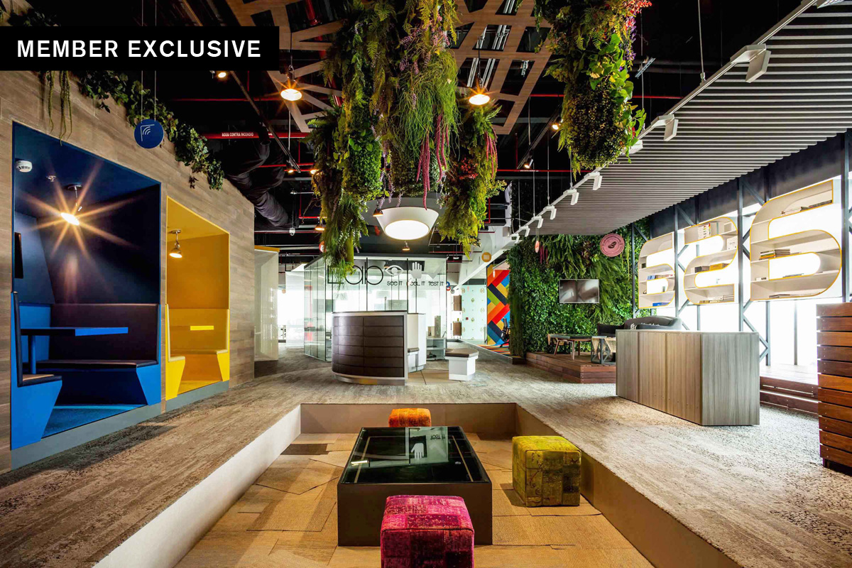 Designers focus on Interior Wellness to promote Employee Wellbeing