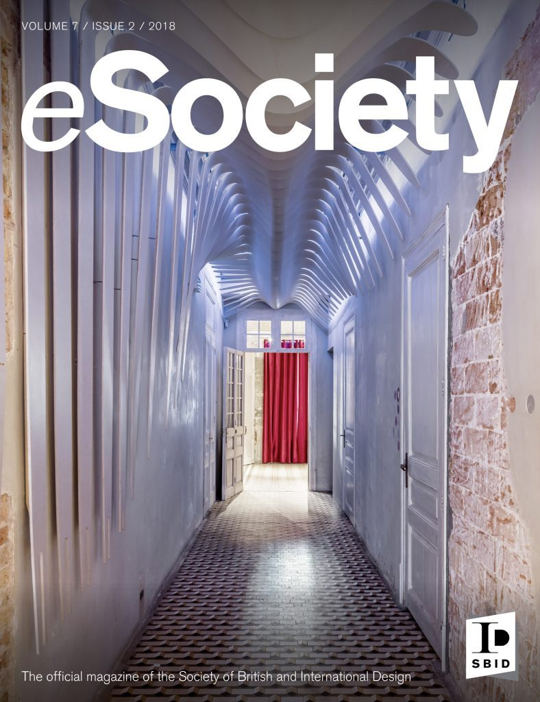 SBID interior design magazine, eSociety, Volume 7 Issue 2