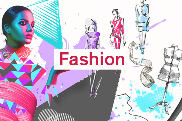 Fashion Category artwork for student design competition, Designed for Business