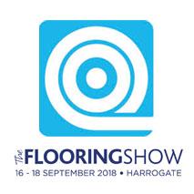 The Flooring Show logo for interior design events calendar
