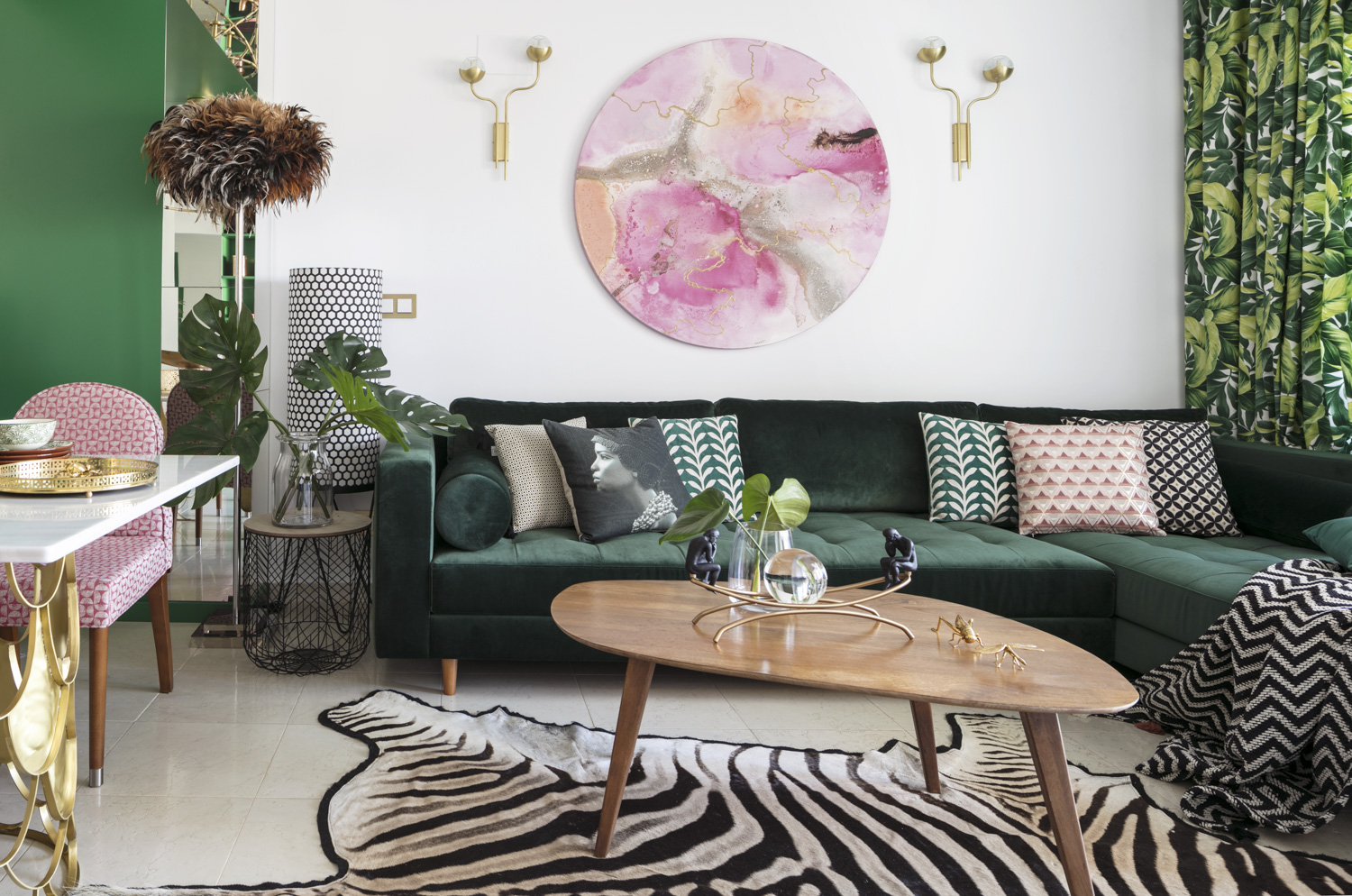The Power of the Colour in Mediterranean Holiday Apartment