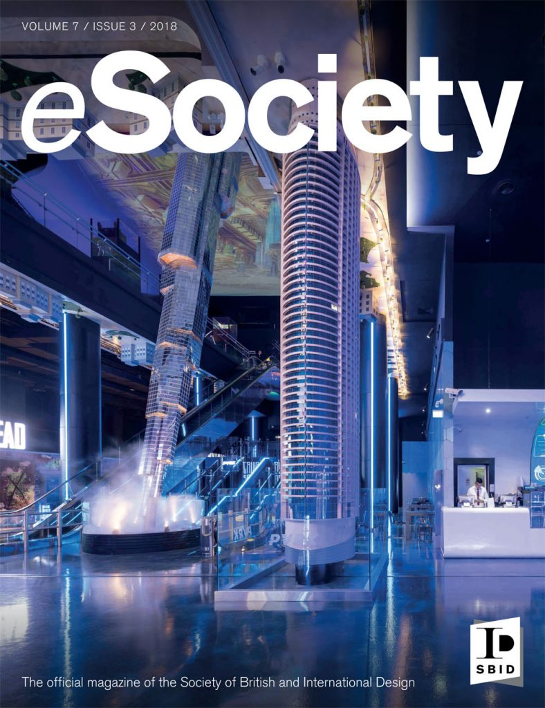 SBID interior design magazine, eSociety, Volume 7 Issue 3