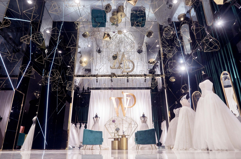 Romantic, Dream-Like Store Design For Wedding Dress Boutique