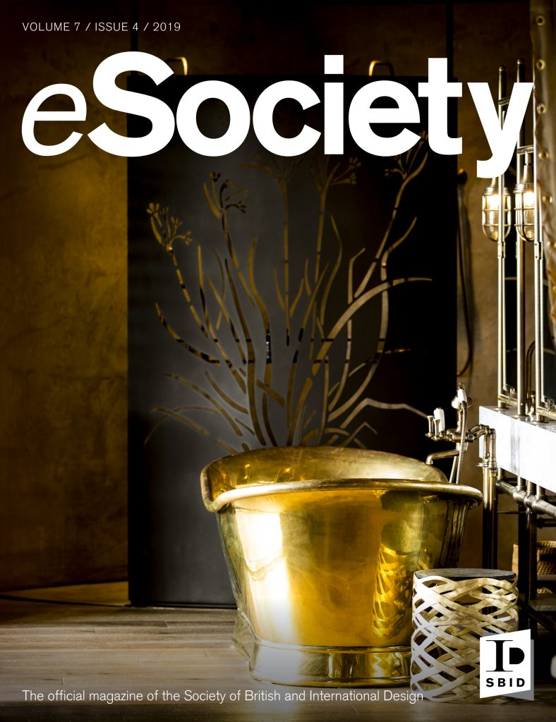 SBID interior design magazine, eSociety, Volume 7 Issue 4