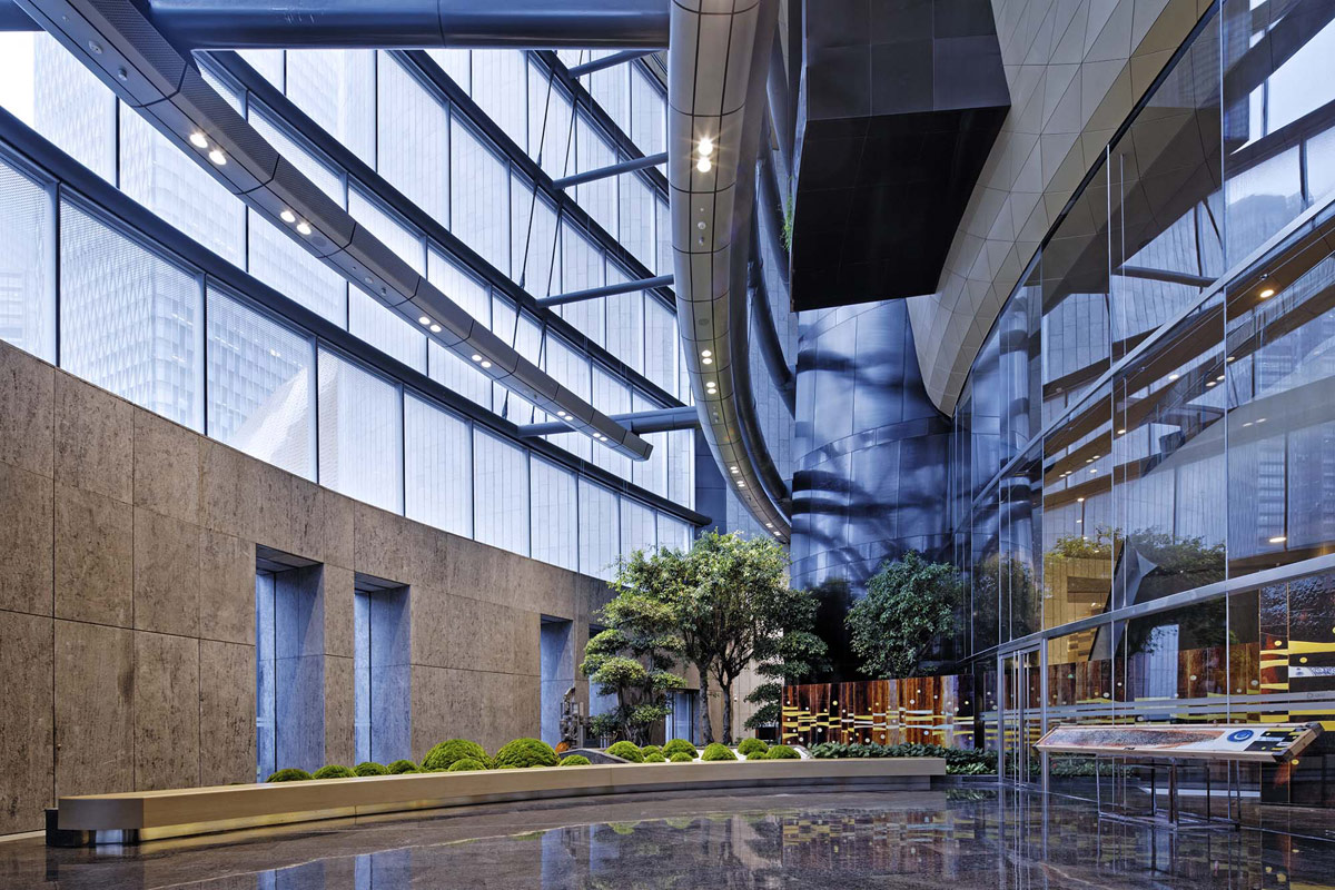 A Sky-High Commercial Property Defined by Sustainability and Modern Design
