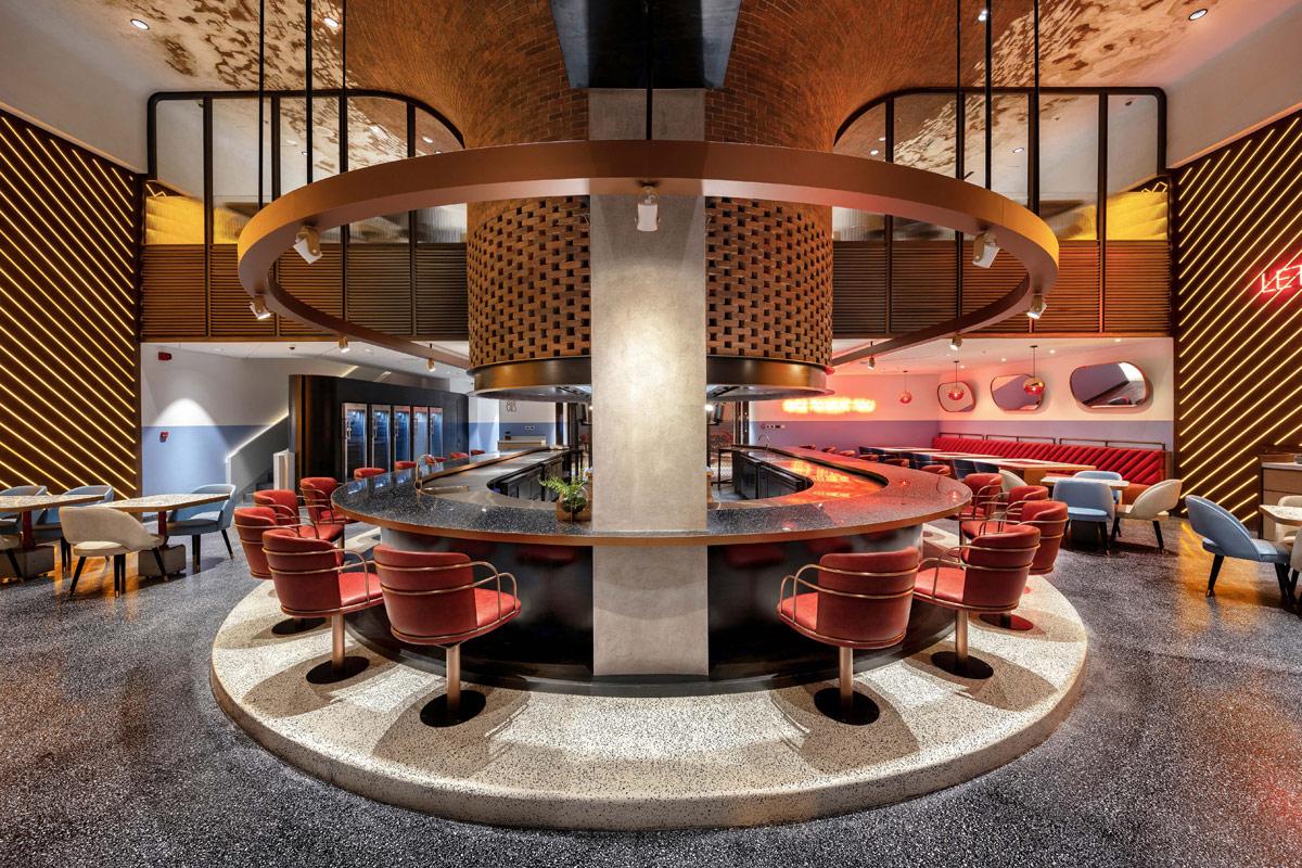BBQ Restaurant Design Concept in a New Dubai Dining Destination