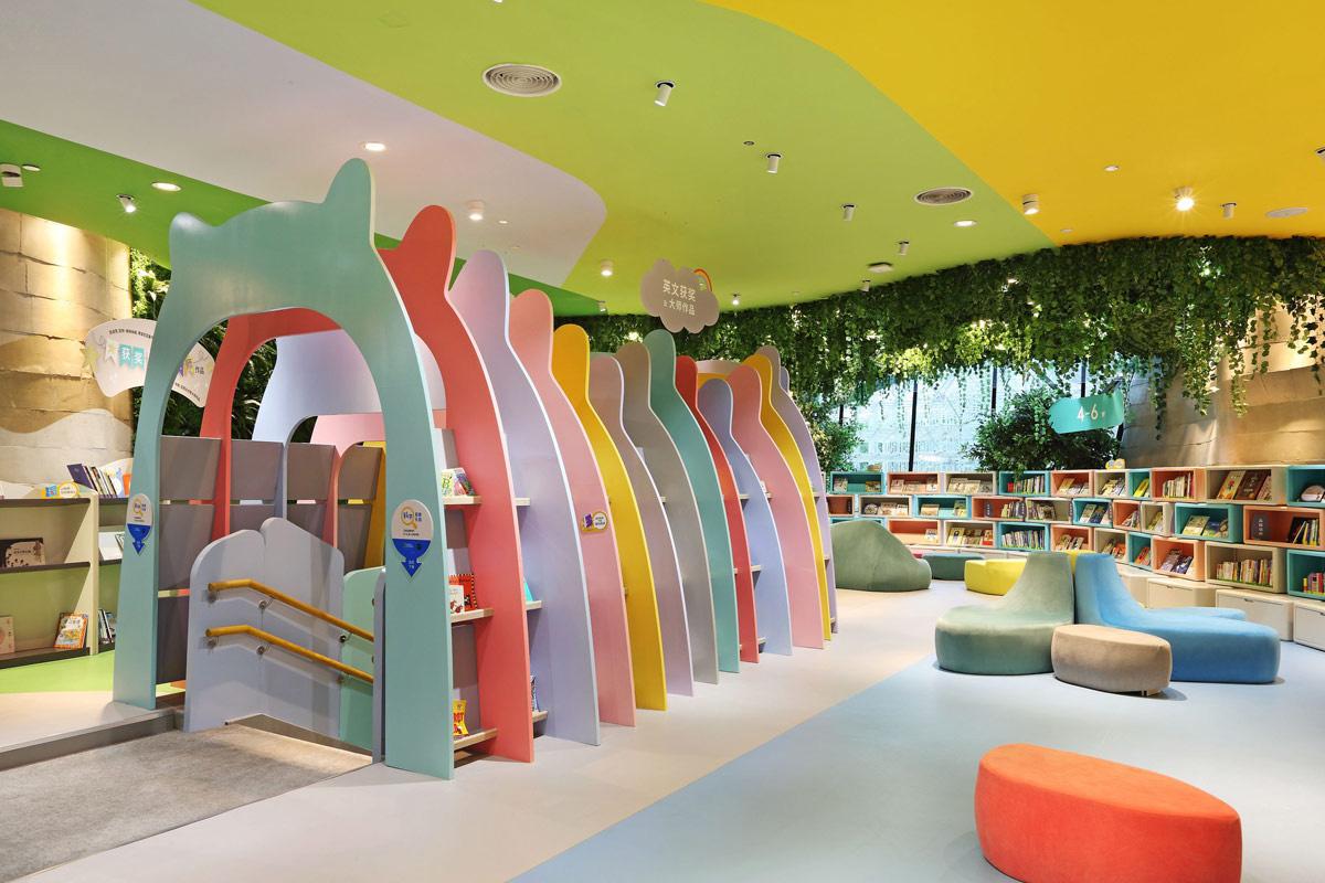 Eco friendly Interior Design for Children's Educational Centre
