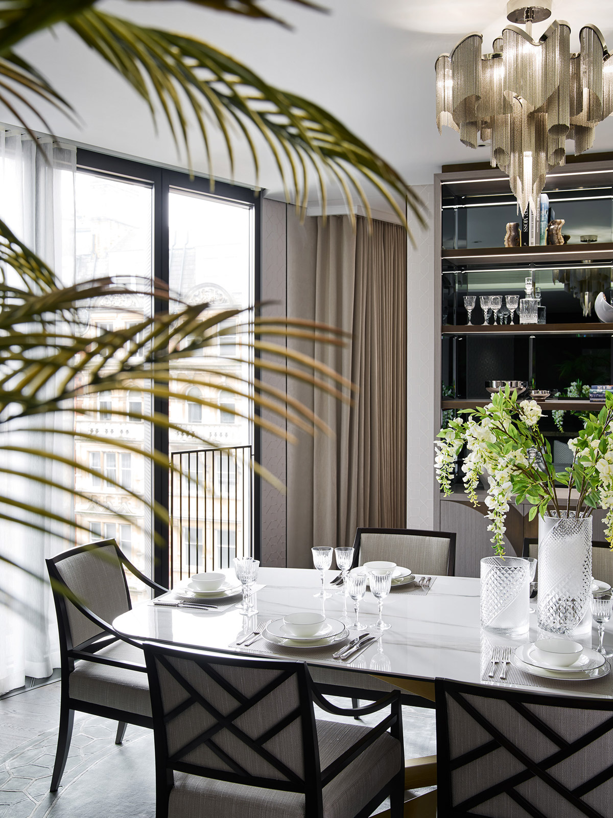 Elicyon, Porject Vera for One Hyde Park residential design project images for SBID interior design blog, Project of the Week