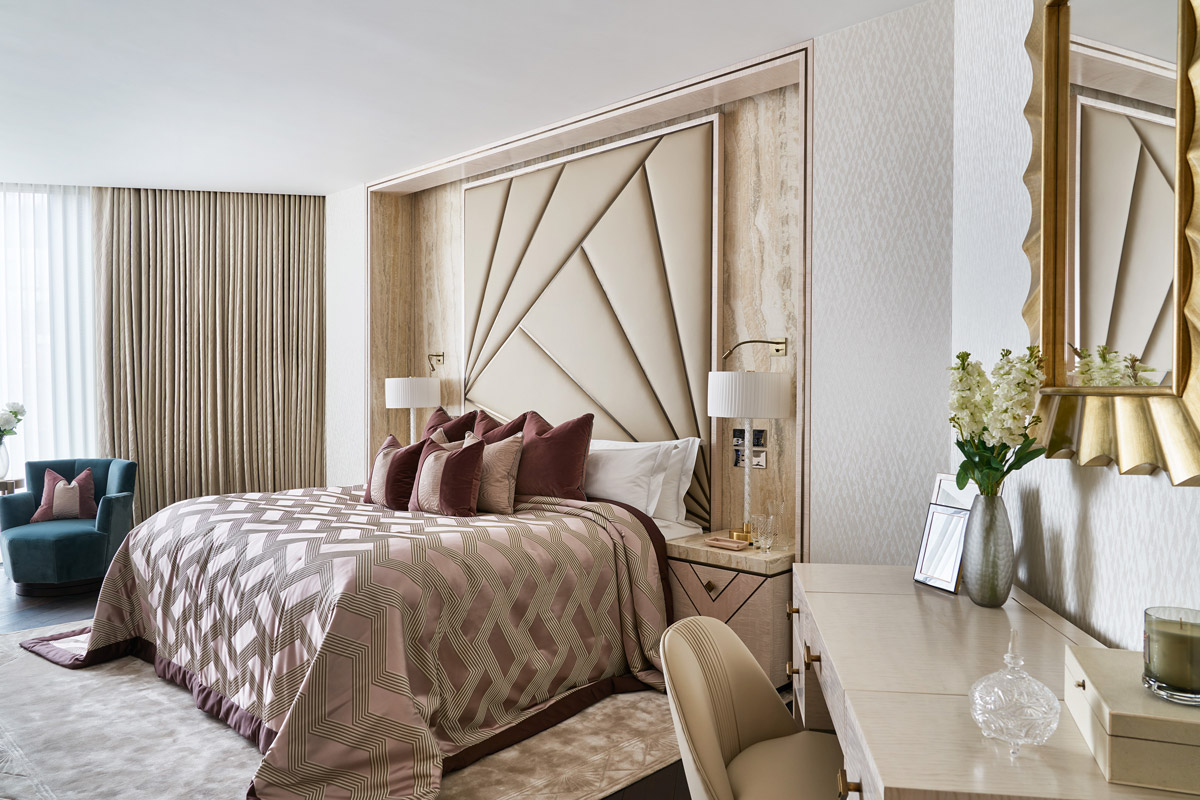 A Timeless And Feminine Home With Hollywood Art Deco Glamour Sbid