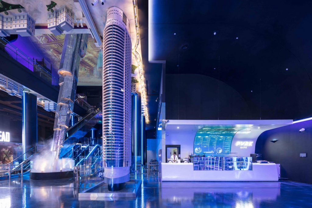 SBID Awards Overall Winner feature with 4Space for VR Park Dubai project