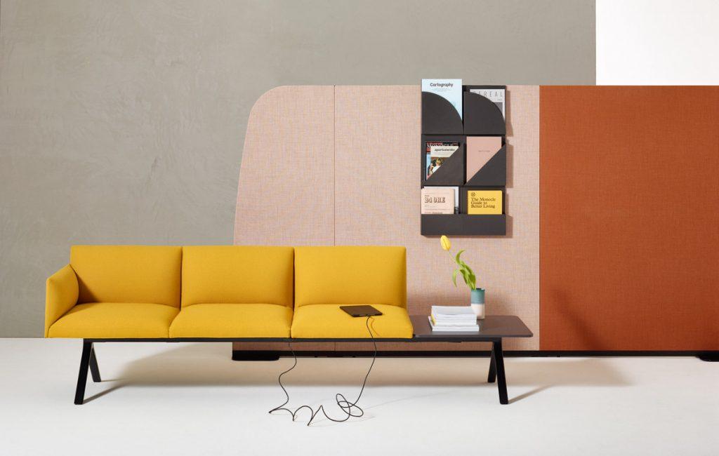 London Design Festival 2019 feature with Arper exhibitor image for SBID interior design blog