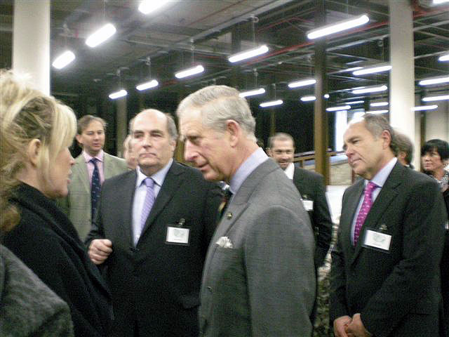 SBID President and The Prince of Wales