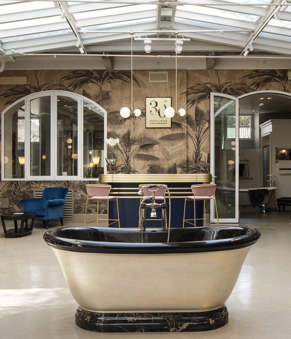 Downtown Design press image featuring Devon & Devon showroom