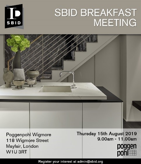 Poggenpohl Interior Design Business Breakfast Meeting Invitation