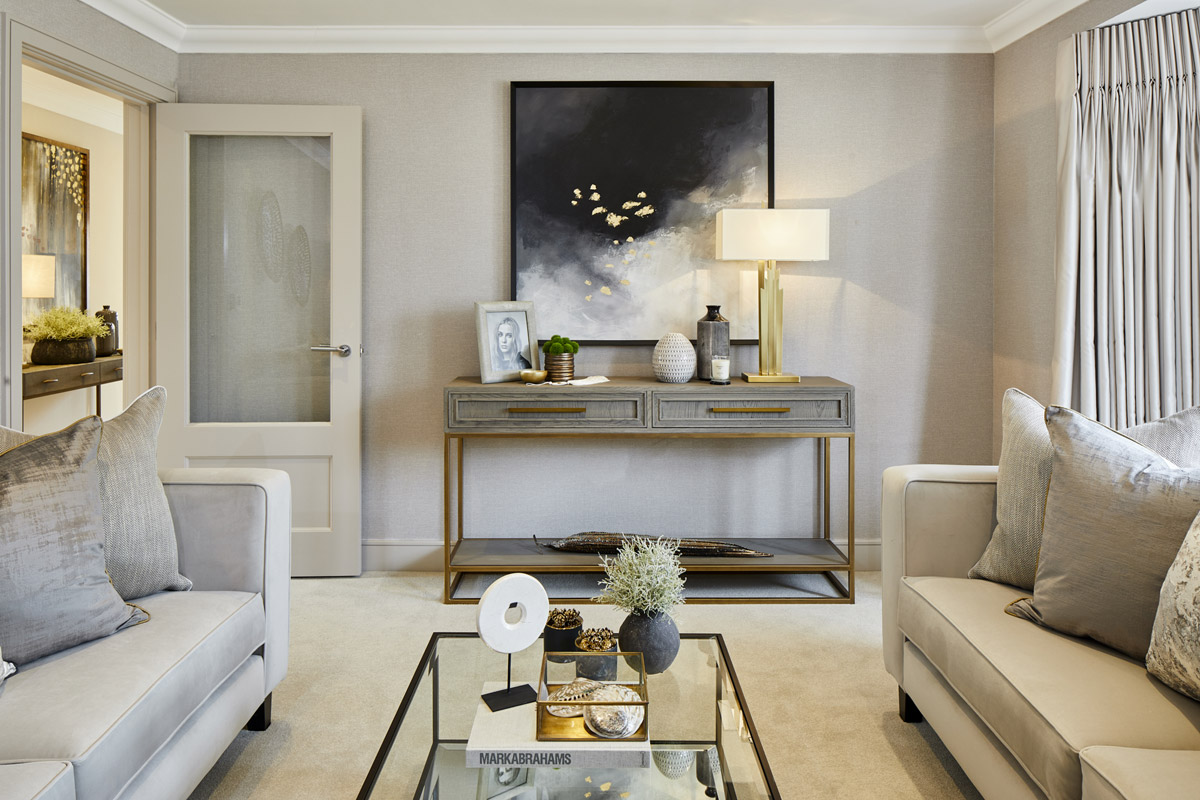 Aspirational and Sophisticated Interior for New Residential Development