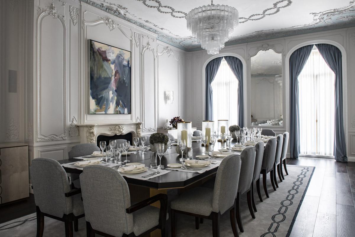 Chic, Contemporary & Classical Interior for Prestigious Mayfair Restoration