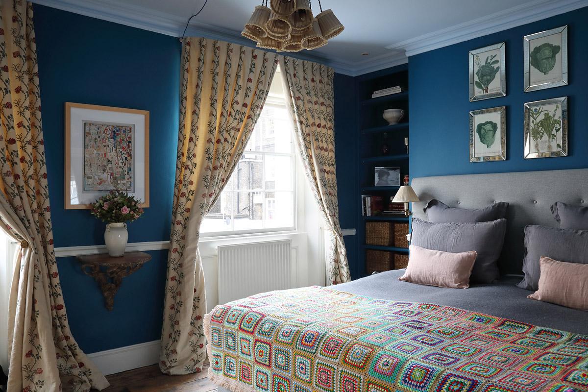 Interior designer, Ana Engelhorn project image of bedroom interior
