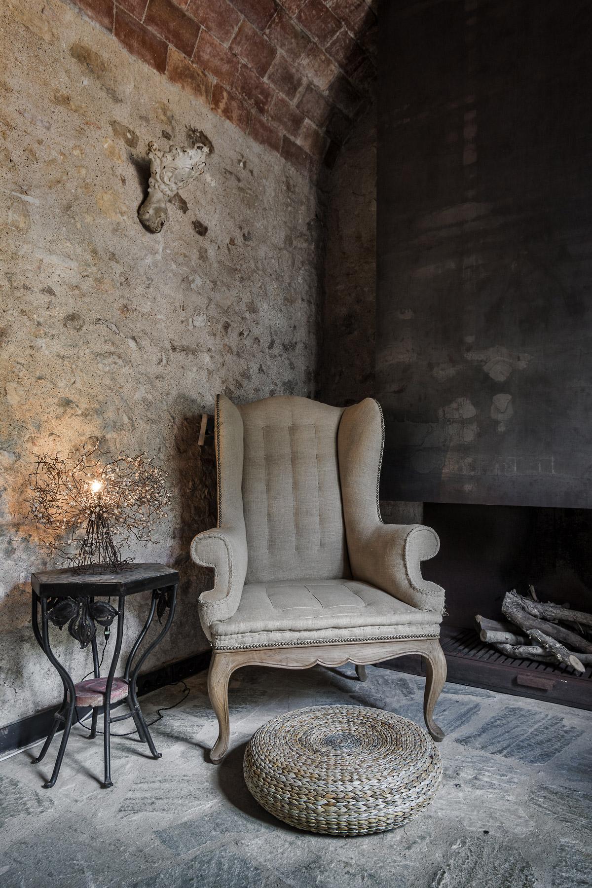 Interior designer, Ana Engelhorn project image of antique chair