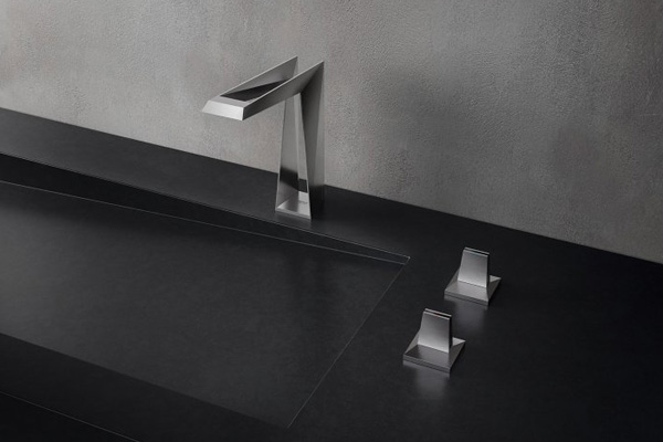 Product news featuring Allure 3D tap by GROHE