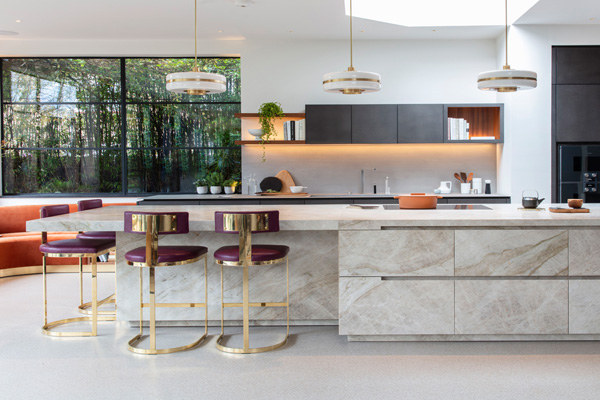 Product news featuring Eggersmann Design bespoke kitchen design