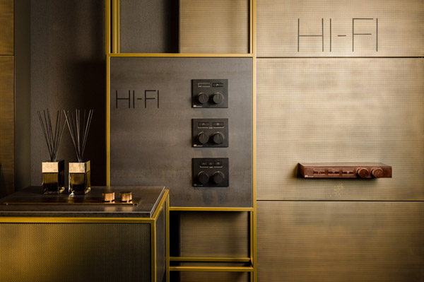 Product news featuring Gessi Hi-Fi shower technology