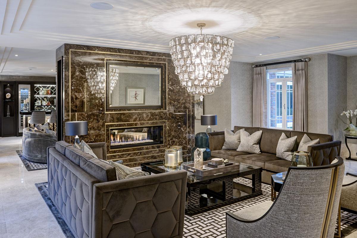 residential design, Elegant Art Deco Interiors for a Luxury Wentworth Refurbishment