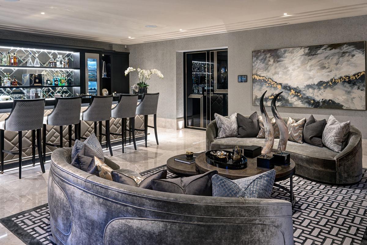 Elegant Art Deco Interiors for a Luxury Wentworth Refurbishment