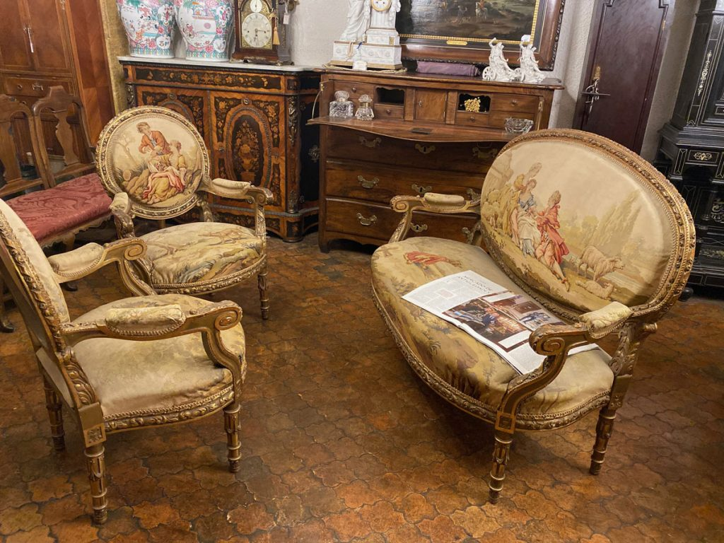 Sourcing Antiques with Ana Engelhorn