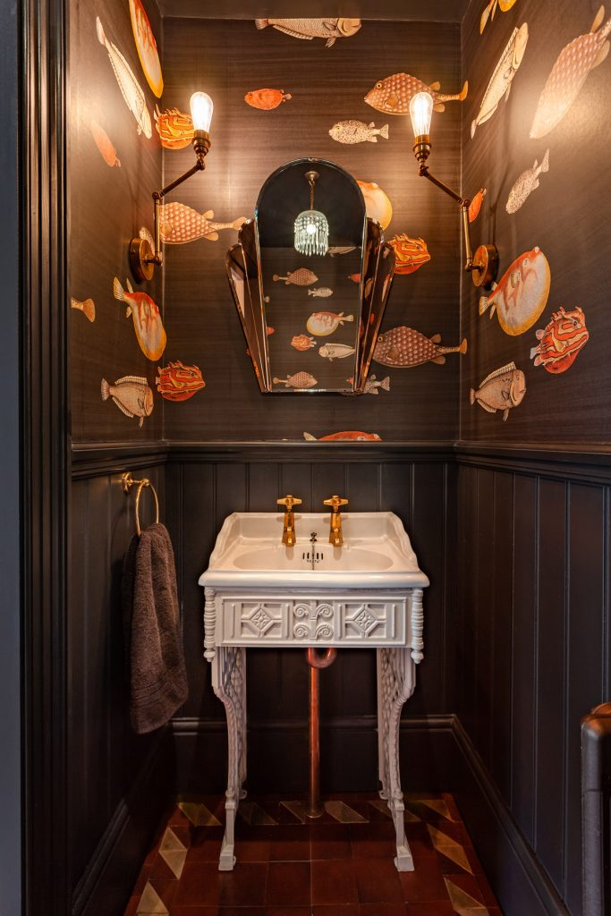Small space design with guest loo by Richard Dewhurst