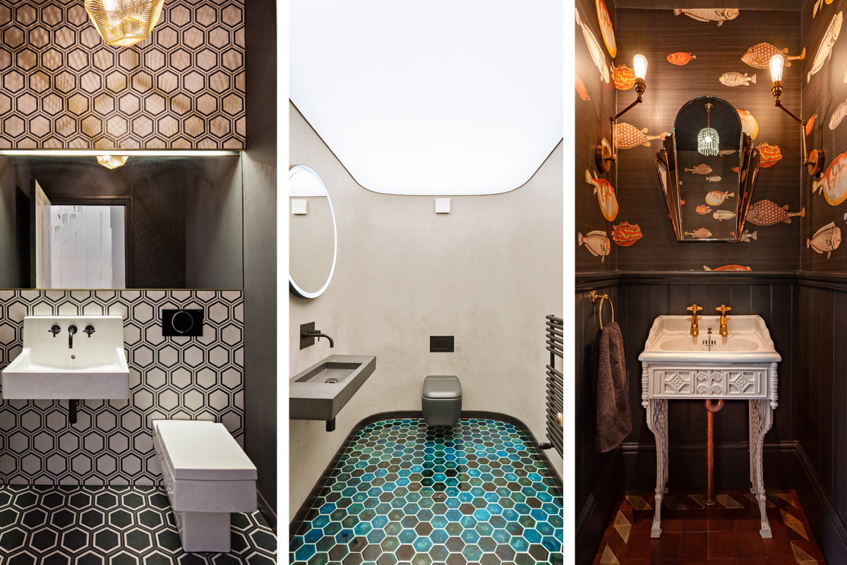 Big Designs for the Smallest Spaces: Get Creative in the Guest Loo!
