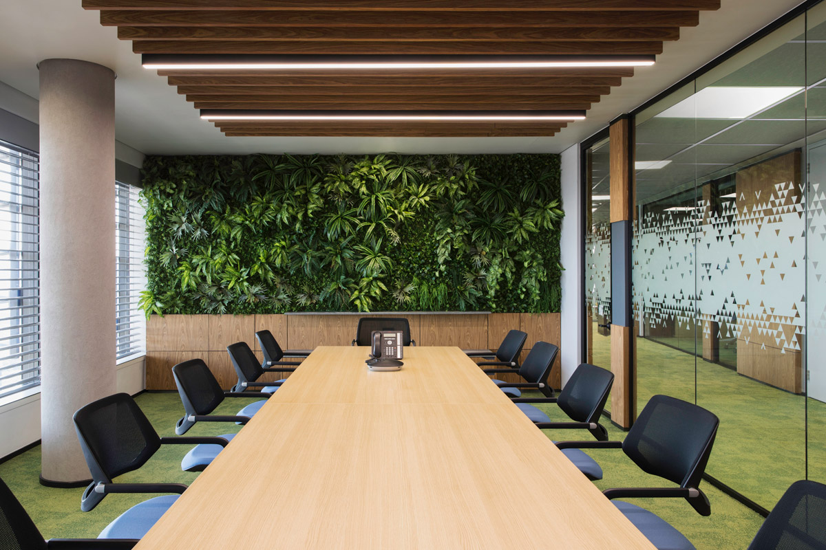 Office interior design by Paragon Interface