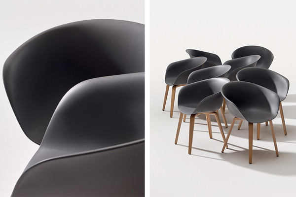 Product news featuring Arper's latest eco furniture
