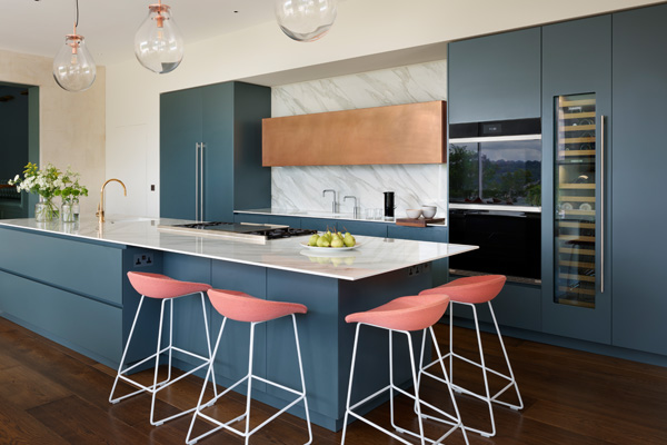 Product news featuring Roundhouse bespoke kitchen design