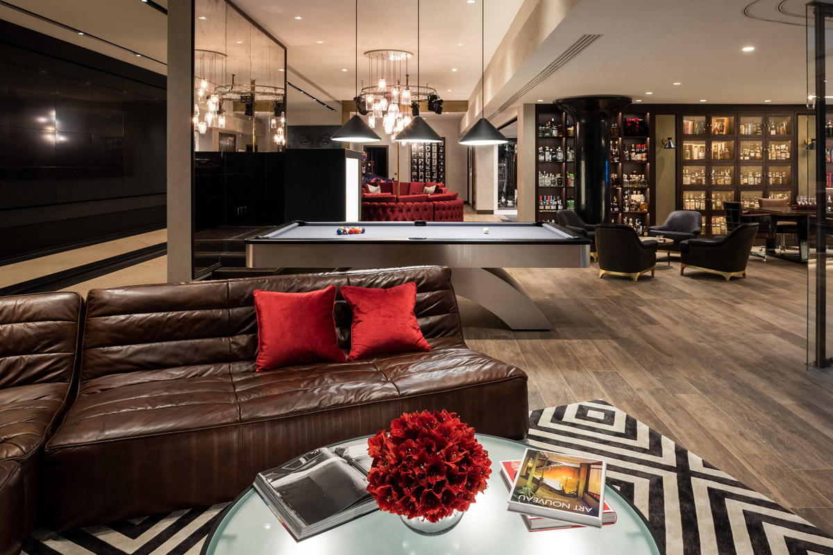 Luxurious Design for the Ultimate Underground Entertainment Space