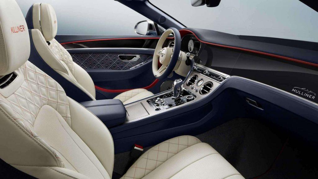 Bentley Continental GT Mulliner Convertible interior