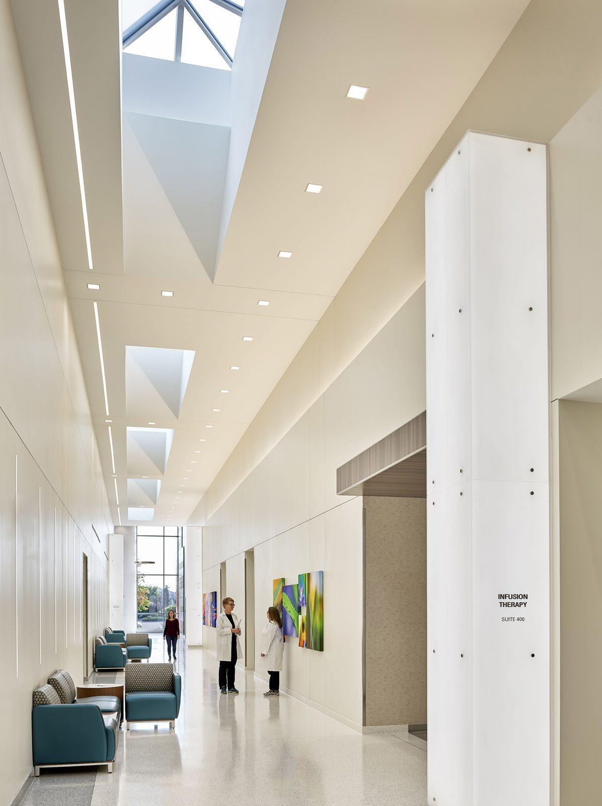 healthcare design, Comforting, Patient-focused Cancer Centre