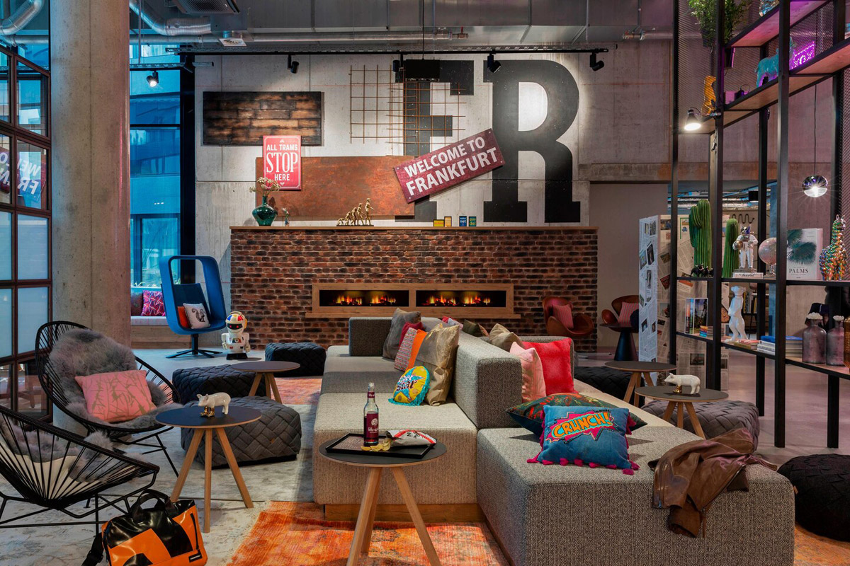 hotel design, Stylish City Centre Hotel with Urban Aesthetic and Industrial Architecture