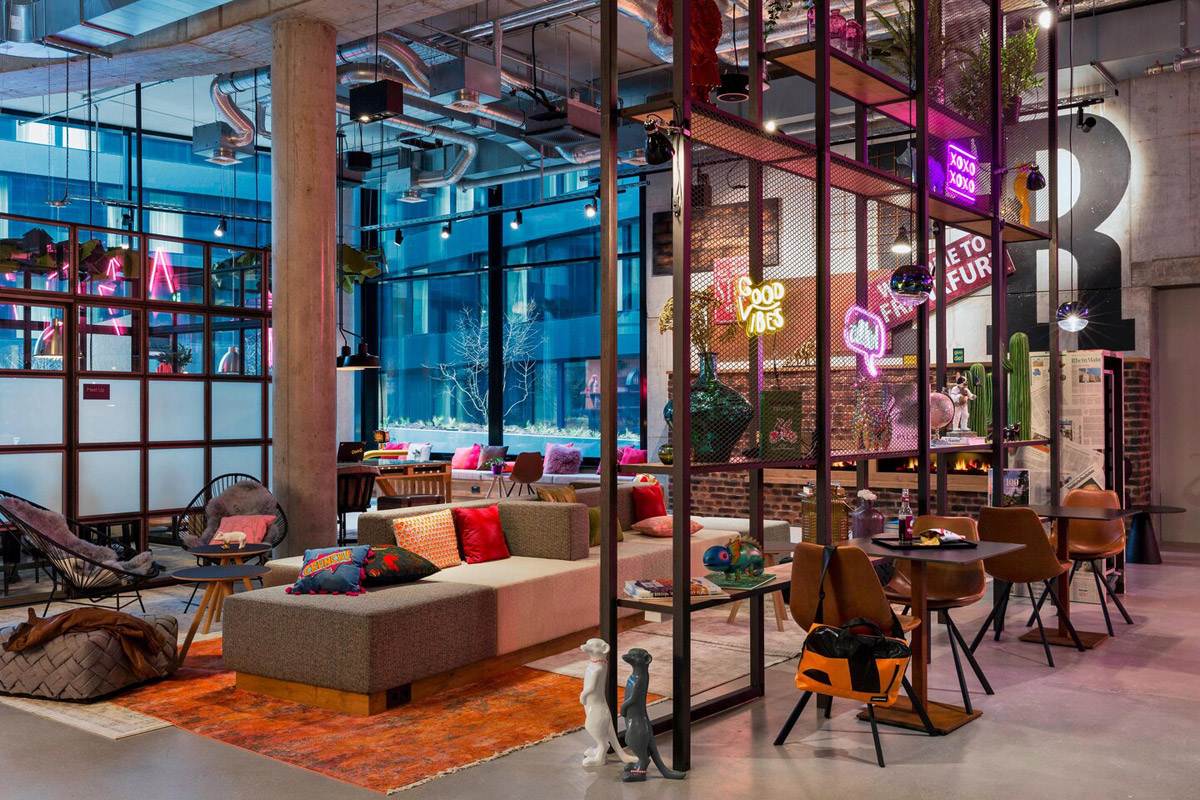 Stylish City Centre Hotel with Urban Aesthetic and Industrial Architecture