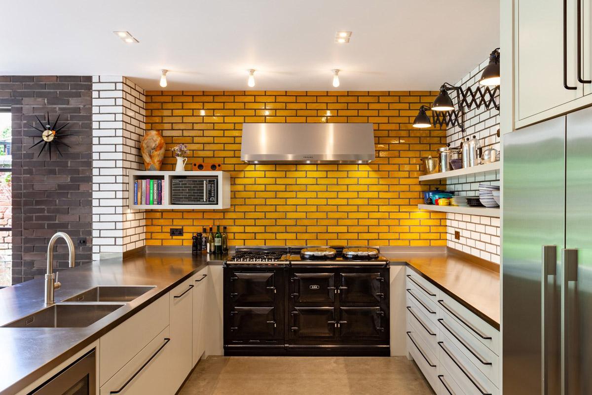 Residential interior design by Richard Dewhurst Interior Architecture featuring kitchen interior