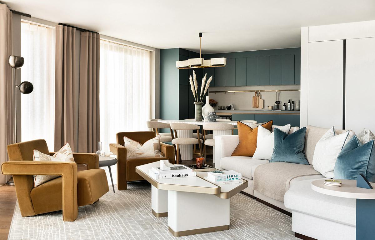 Hexagon Living Room