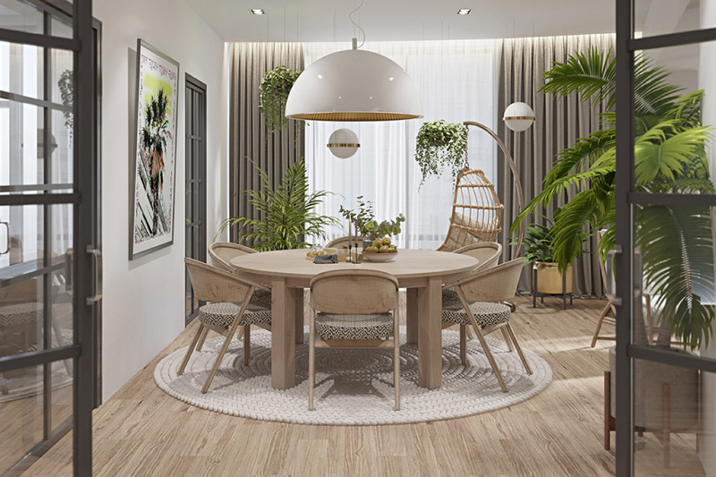 Interior design student CGI visuals of residential interior for SBID student competition, Get me 2 the Top