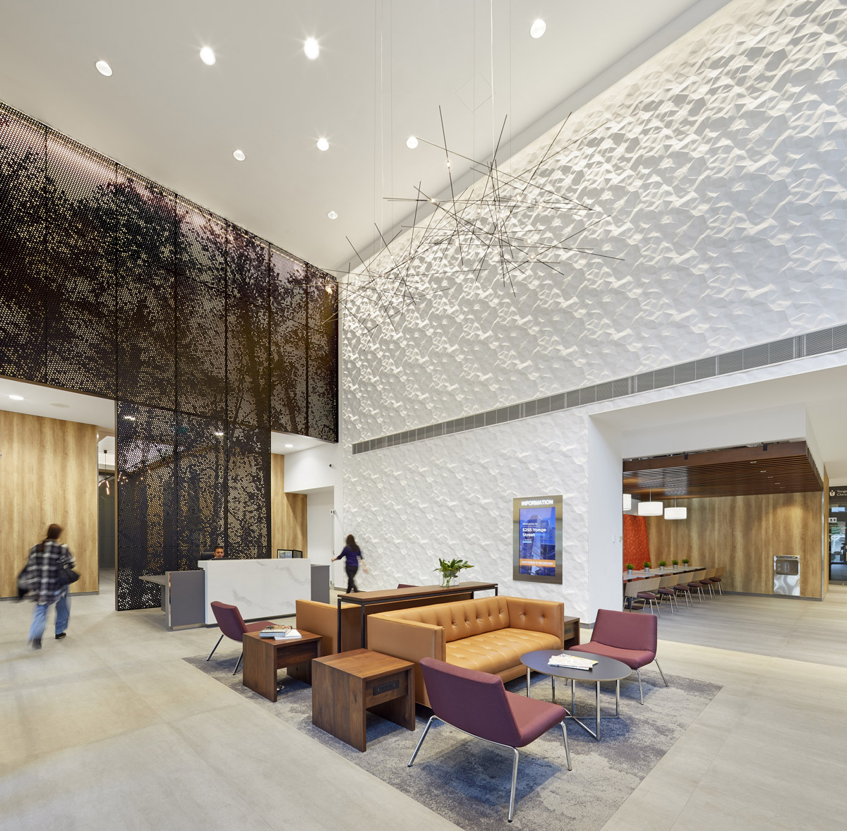 office design, Striking Sculptural Transformation for Dated Office Tower