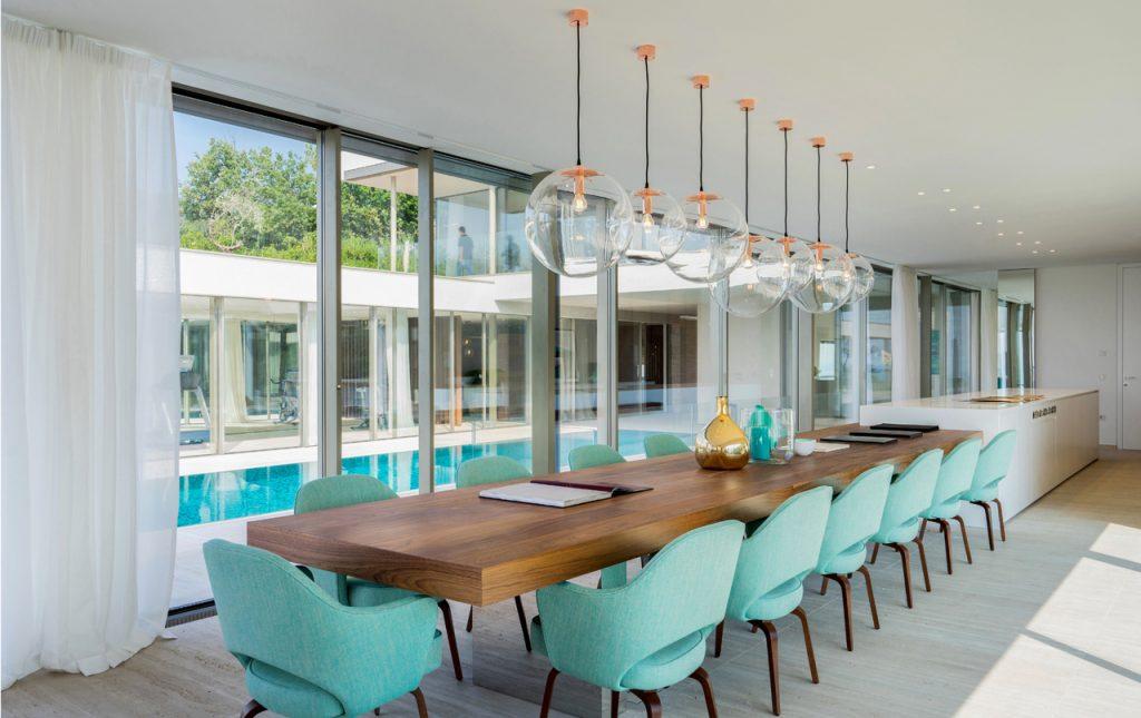 Luxury design, Luxury Residential Villa Overlooking Italian Lake Garda