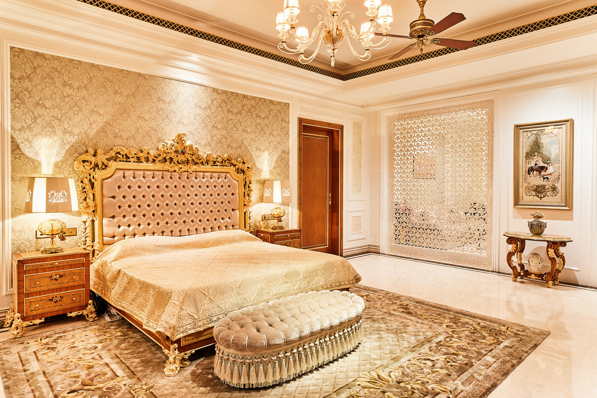 Palatial Villa Embodies Rococo Style with Monarchical Opulence