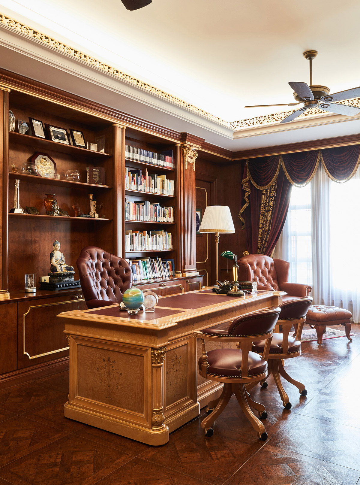 rococo style, Palatial Villa Embodies Rococo Style with Monarchical Opulence